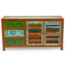 Sea Saw Reclaimed Wood Cabinet by EcoChic Lifestyles