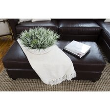 Urban Cocktail Leather Ottoman by Elements Fine Home Furnishings