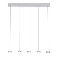 Mint 5-Light LED Pendant