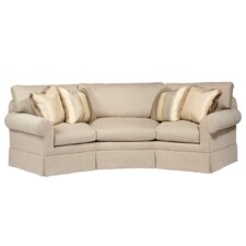 Curved Back Conversation Sofa