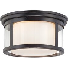 Wilson 2-Light Flush Mount