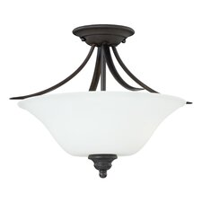 Darby 2-Light Semi Flush Mount
