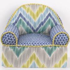 Zebra Romp Kids Cotton Foam Chair