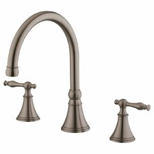 Double Handle Bathroom Faucet by LessCare