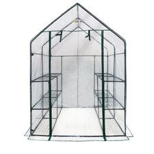 Deluxe Walk-In 1.4m W x 1.4m D Greenhouse