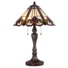 "Fields Tiffany 24"" Table Lamp"