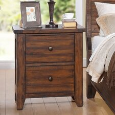 Cally 2 Drawer Nightstand by Modus Furniture