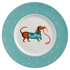 Hound Dog 19cm Bone China Side Plate