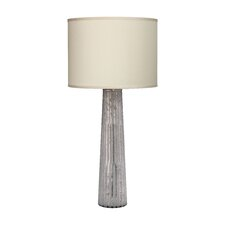 "Striped Pillar 38"" Table Lamp"