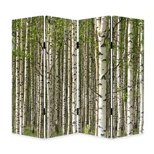 84 x 84 Prolific Forest 4 Panel Room Divider by Screen Gems