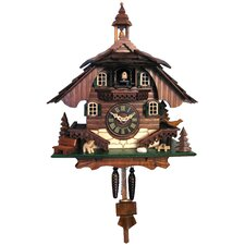 Battery-Operated Cuckoo Wall Clock With Chime