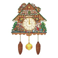 Korsch Advent Cuckoo Wall Calendar