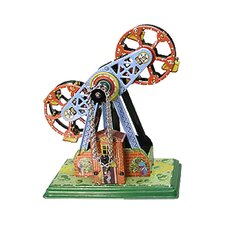 Collectible Decorative Tin Toy Ferris Wheel