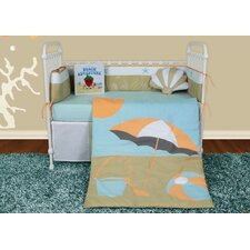 Sun and Sand 6 Piece Crib Bedding Set by Snuggleberry Baby