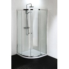 185cm x 90cm Sliding Shower Door