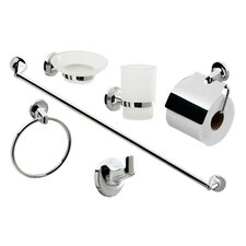 6-Piece Bathroom Accessory Set