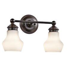 Currituck 2-Light Vanity Light