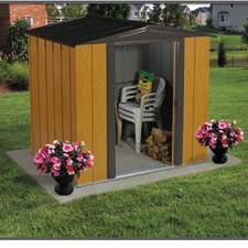 Woodlake 6 ft. W x 5 ft. D Metal Tool Shed