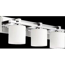 Cylinder 3-Light Vanity Light