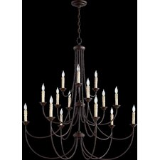 Brooks 15-Light Candle-Style Chandelier