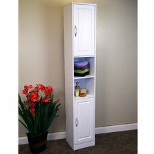"Lucy 12.25"" W x 71.5"" H Linen Tower"