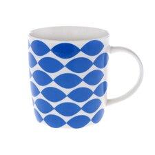 Crown Regal 10cm Fine Bone China Mug in Blue