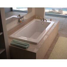 Guadalupe 72 x 36 Drop In Soaking Bathtub by Spa Escapes