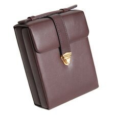 Royce Leather Jewelry Earrings and Necklace Storage Case
