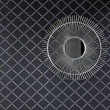 "Odyssey 33' x 20.5"" Geometric Foiled Wallpaper Roll"