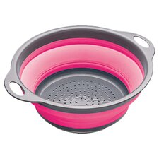 Colourworks Collapsible Colander in Pink