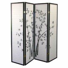 "Kingman 70"" x 68"" Bamboo Shoji 4 Panel Room Divider"