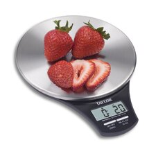 Slim Stainless Digital Kitchen Scale
