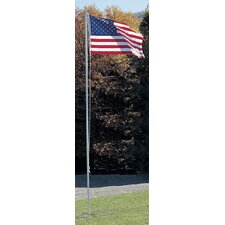 In-Ground Flagpole with NylGlo Flag