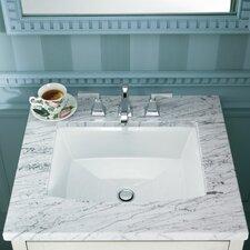 Archer Rectangular Undermount Bathroom Sink