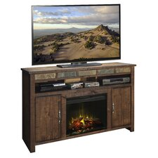 "Old West 60"" TV Stand with Electric Fireplace"