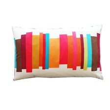 Brush 100% Cotton Lumbar Pillow