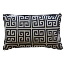 Riddle Cotton Lumbar Pillow