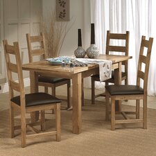 Windermere Extendable Dining Table and 4 Chairs
