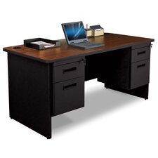 Pronto Box / File Double Pedestal Computer Desk