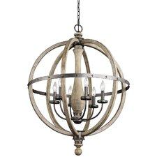 Evan 6-Light Globe Pendant