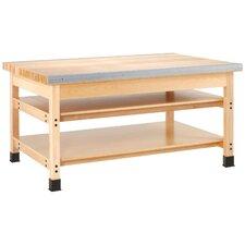 Wood Top Workbench
