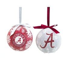 NCAA LED Boxed Ornament Set
