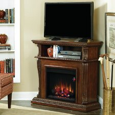 "Lincolnville Cottage/Country 42"" TV Stand with Electric Fireplace"