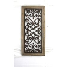 Metal and Wood Wall Décor