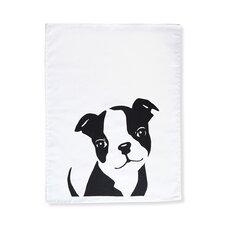 Boston Terrier Tea Towel