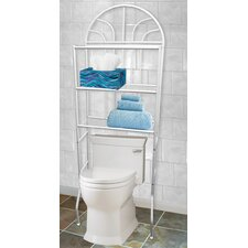 24.4 W x 68 H Over the Toilet Storage by Home Basics