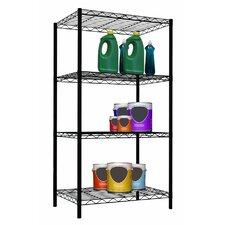 4 Tier Steel Wire Shelf