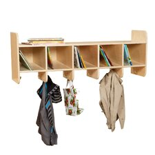 5 Compartment Cubby by Wood Designs
