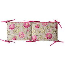 Waverly Jazzberry Crib Bumpers by Trend Lab