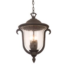 Santa Barbara 3-Light Outdoor Hanging Lantern